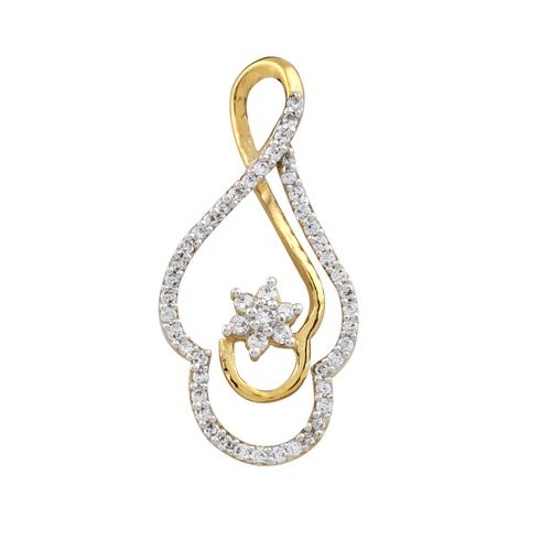 Fashionable Diamond Pendent