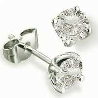 Solitaire Diamond Earring