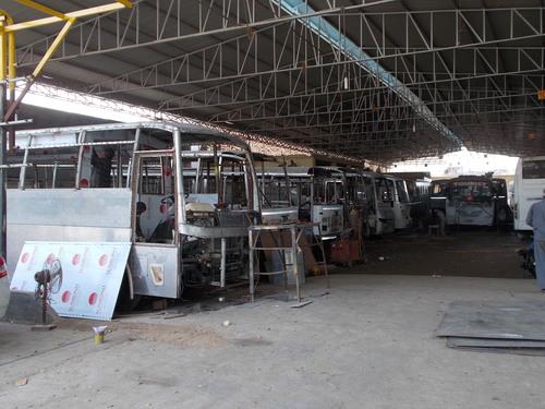 Low Floor Bus Body