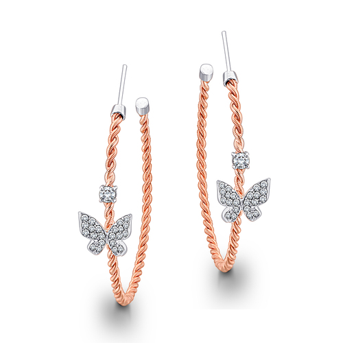 Beautiful and Eye Catching Diamond Earring