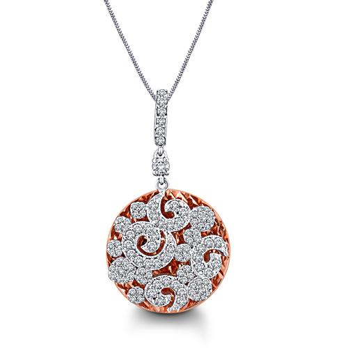Sparkling Diamond Pendent