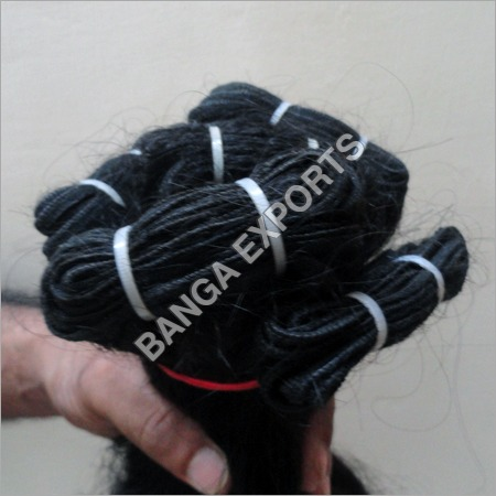 Machine Human Weft Hair
