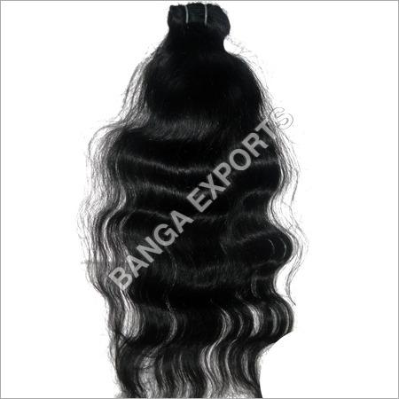 Wavy Machine Weft Hair