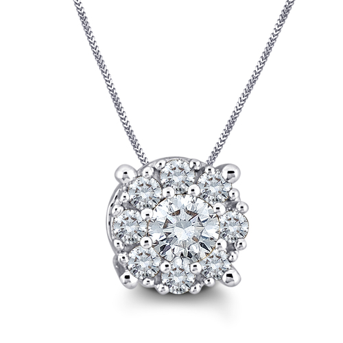 Sparkling and Adorable Diamond Pendent