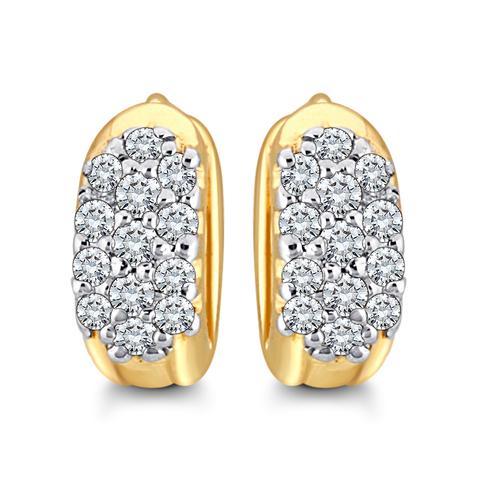 Unique Cluster Diamond Earring