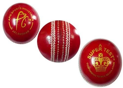 Cricket Ball 'Allum Tanned