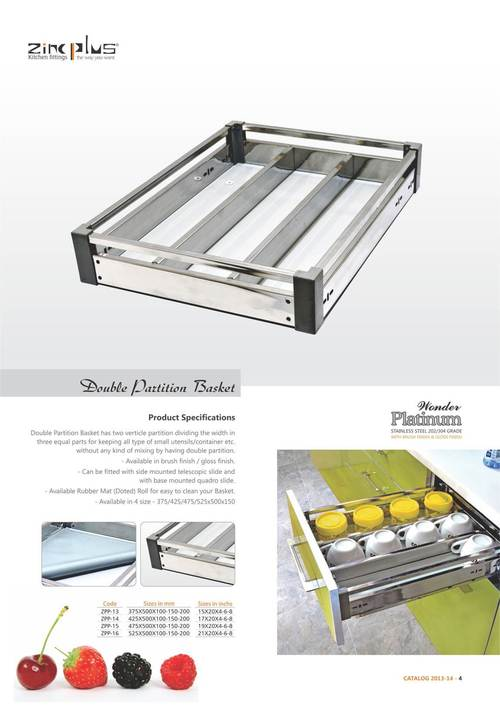 Double Partition Basket