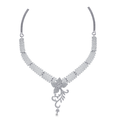 Modern and Designer Diamond Necklace