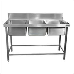 3 Sink Dish Wash Units