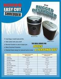 Heavy Duty Paper Shredder