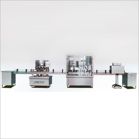 Semi Automatic Bottle Label Machine