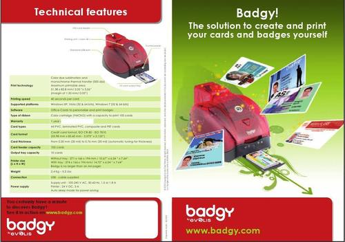 ID Card Printer (BADGY)