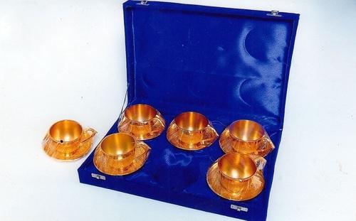 Brass Cup Saucer