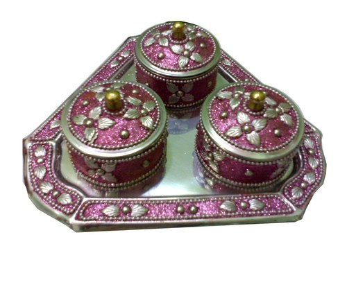 Brass Dry Fruit Box