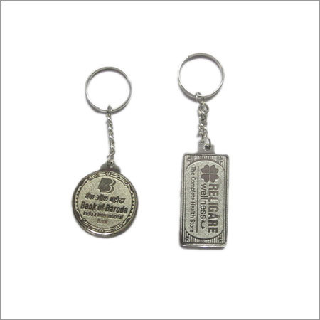SILVER MEENA WITH GOLD KEY CHAIN (NEW)