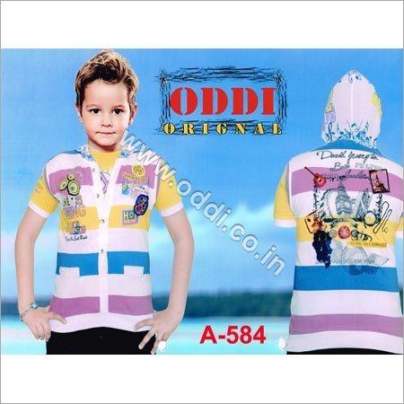 Kids Hooded T Shirt