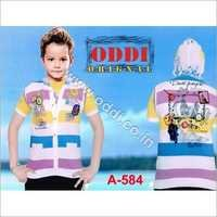 Kids Hooded T Shirt