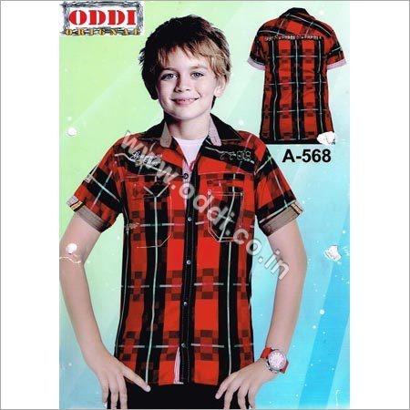 Kids Half Sleeve Shirts