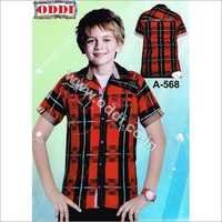 Kids Half Sleeve Shirts
