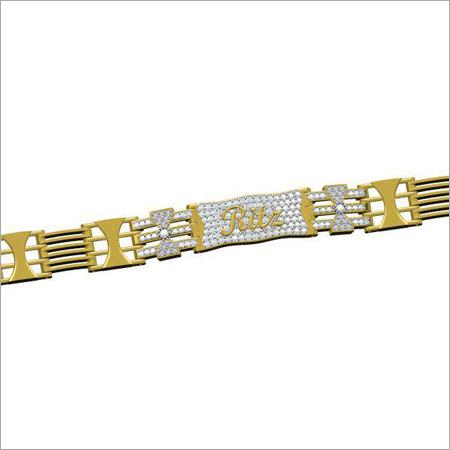 Mens Gold Plated Bracelet