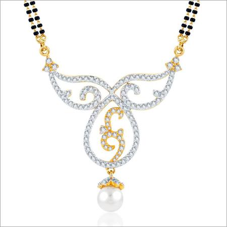 Diamond Mangalsutra Jewelry