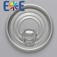 209 aluminum can easy open end|63mm dry food lid|Easy open end manufacturer|Yiwu eoe