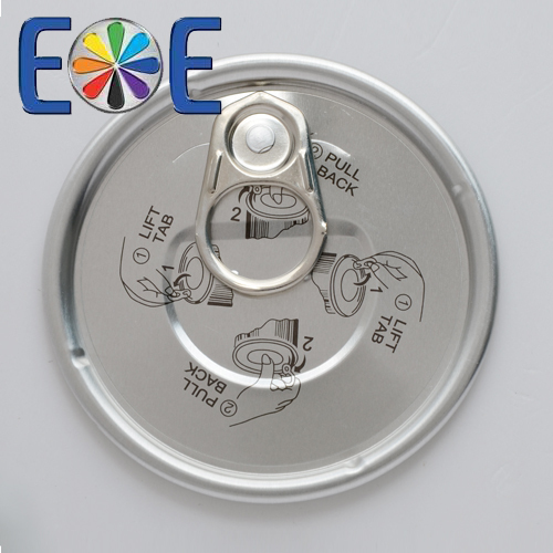 Aluminum easy open end direct from maker