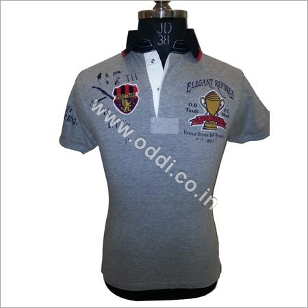 Collar Grey T Shirts