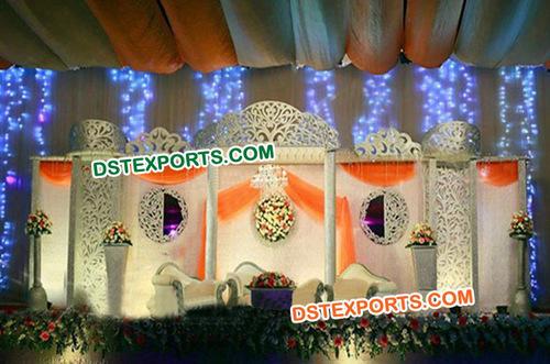 Wedding Stage Fiber Screens