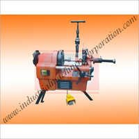 Portable Pipe and Bolt Threading Machines