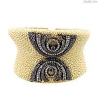 Diamond Pave Stingray Bracelet Jewelry