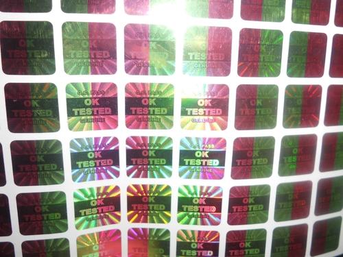 Multi Color Hologram