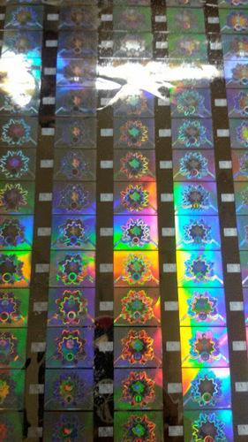 Hot Stamping Holograms