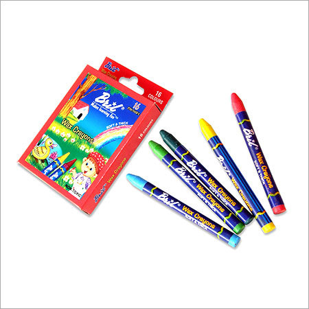 Wax Crayons 16 Col