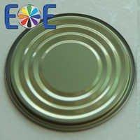 tinplate bottom easy open lid