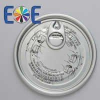 83mm aluminum can easy open end|307 dry food lid|Easy open end factory|Enpack lid