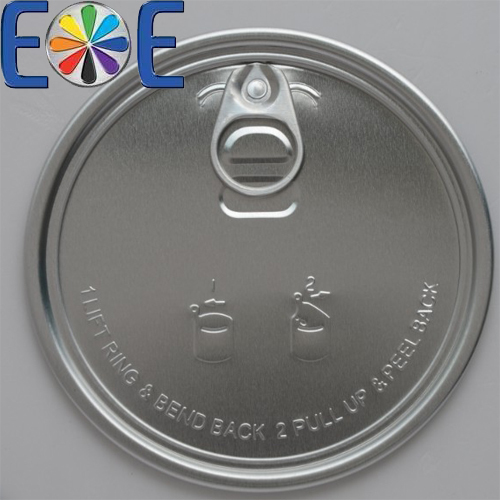 105.3mm aluminum can easy open end|404mm dry food lid|Easy open end manufacturer|powder lid