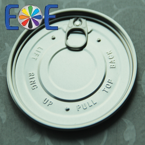 126.5mm aluminum can easy open end|502 PET can lid|Easy open end factory|aluminum lid