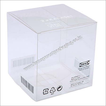 Printed Transparent Pet Boxes