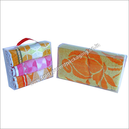 Transparent Pp Box For Towels