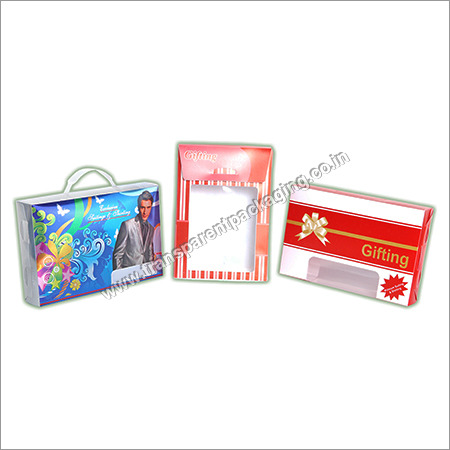 Transparent Pp Box For Textile