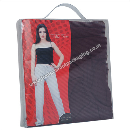 Transparent Pp Box For Garment