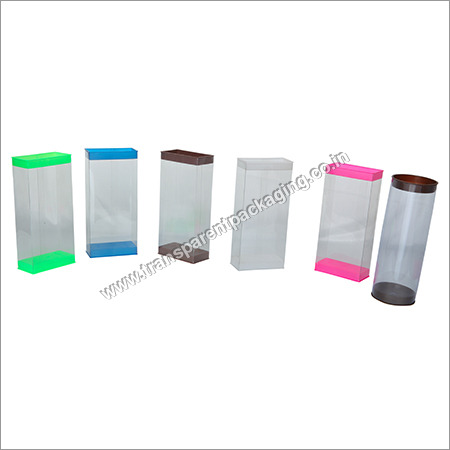Transparent Pvc Boxes With Lids