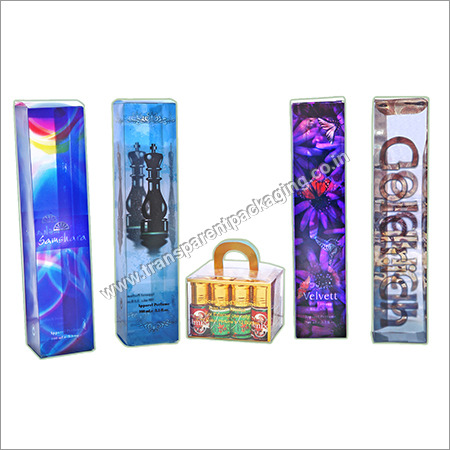 Transparent Pvc Boxes For Perfumes
