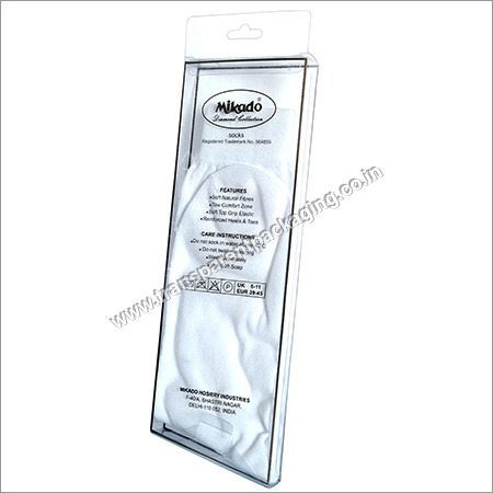 Transparent Pvc Box For Socks