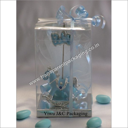 Transparent Pvc Box For Gift Packaging