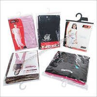 Transparent Soft Pvc Hanger Pouches