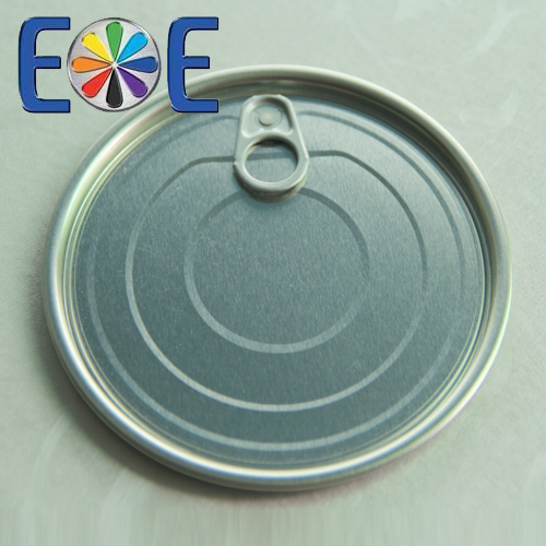 126.5mm tuna fish can lid|502 tomato paste lid|Tinplate easy open end|Tin can lid|Meat easy open lid
