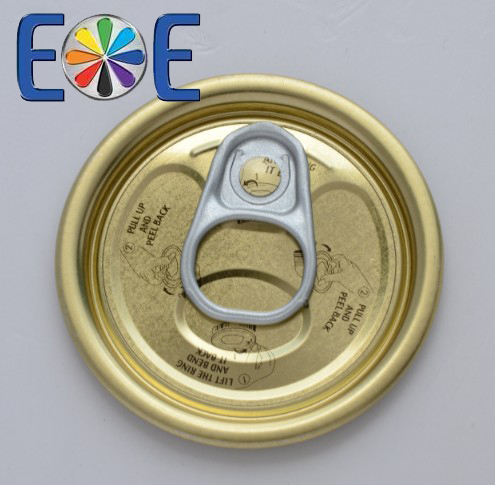 52mm tuna fish can lid|202 tomato paste lid|Tinplate easy open end|Tin can lid|Meat easy open lid
