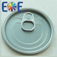 69.7mm tuna fish can lid|214 tomato paste lid|Tinplate easy open end|Tin can lid|Meat easy open lid